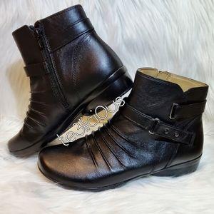 NATURALIZER CASSINI BLACK BOOTIES
